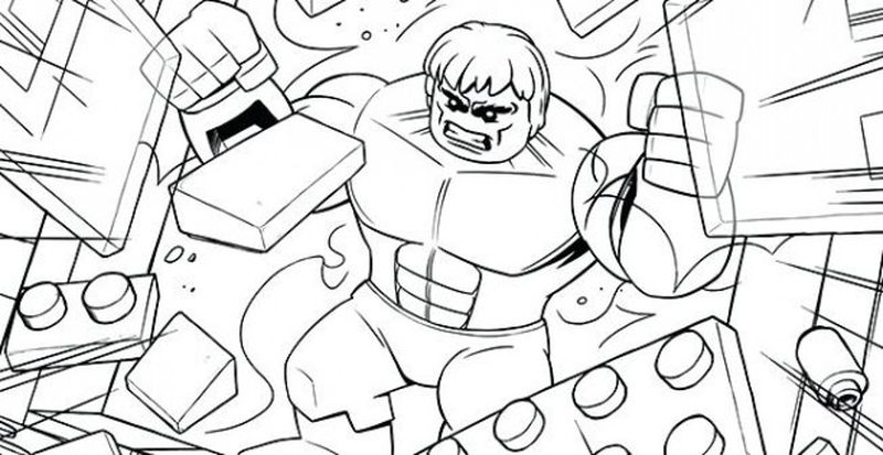 marvel colouring pages free