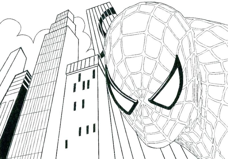 marvel vision coloring page