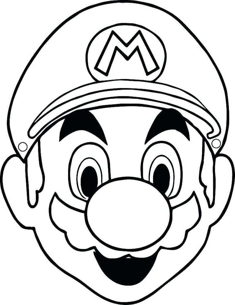 mask coloring pages for adults