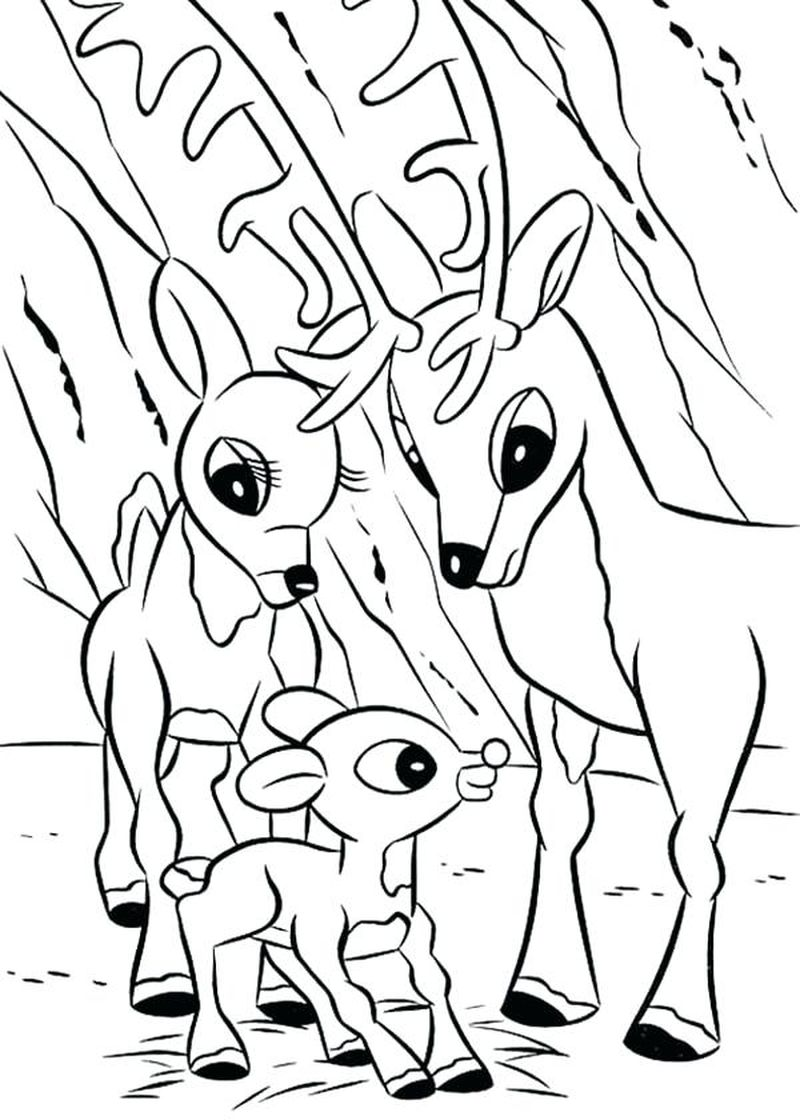 maurice rudolph coloring pages