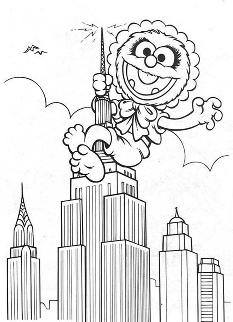 muppet babies coloring pages disney junior