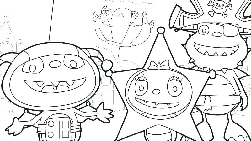 muppet babies coloring pages free