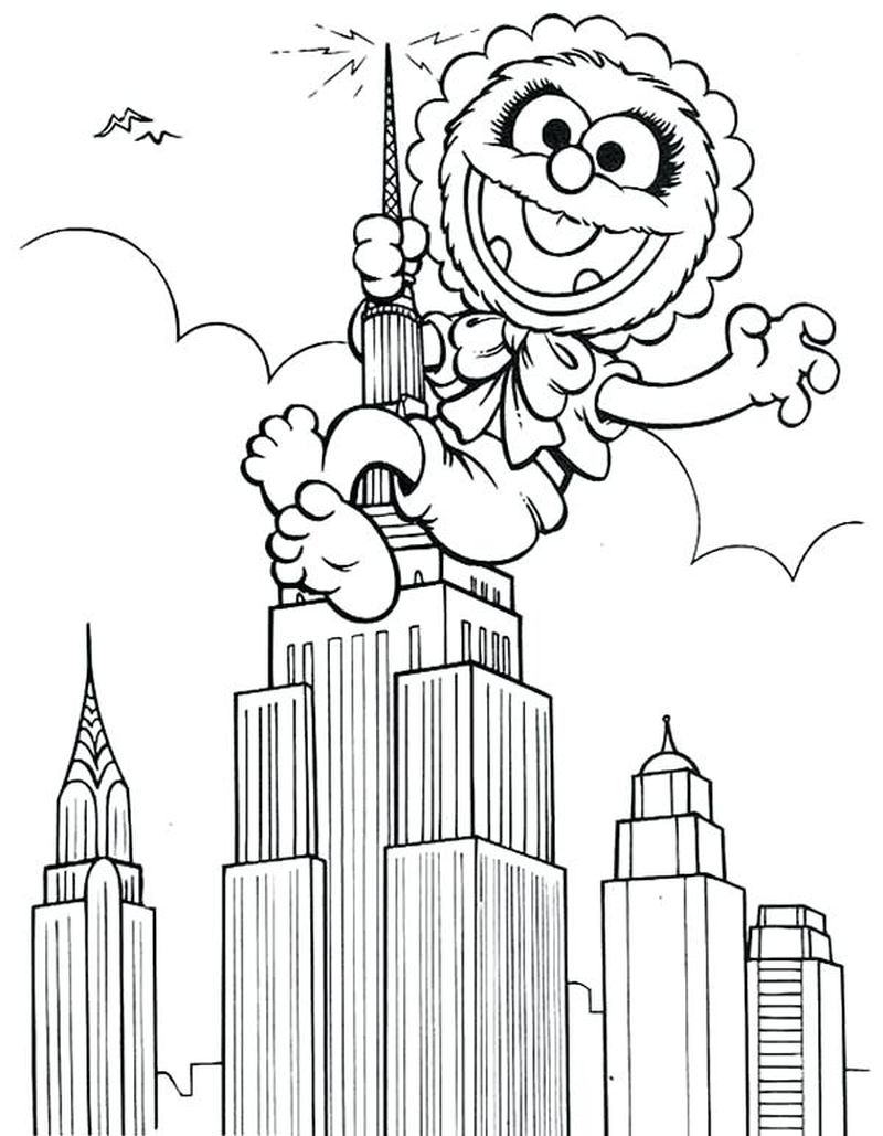 muppet babies coloring sheets