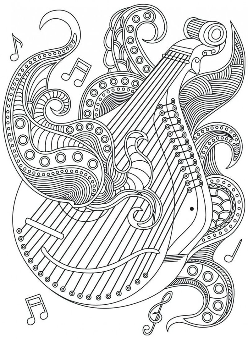 music appreciation coloring pages