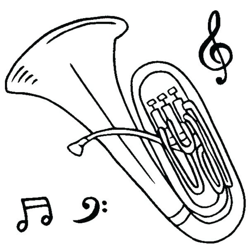 music coloring pages christmas