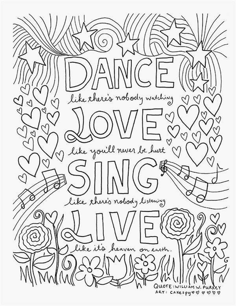 music coloring pages for adults free