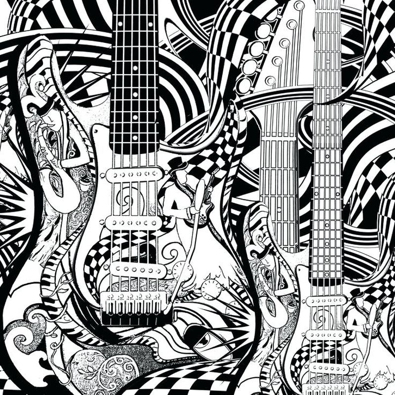 music coloring pages for preschoolers