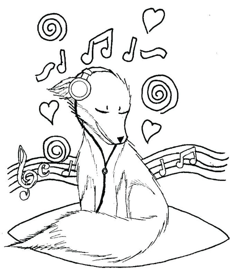 music composer coloring pages