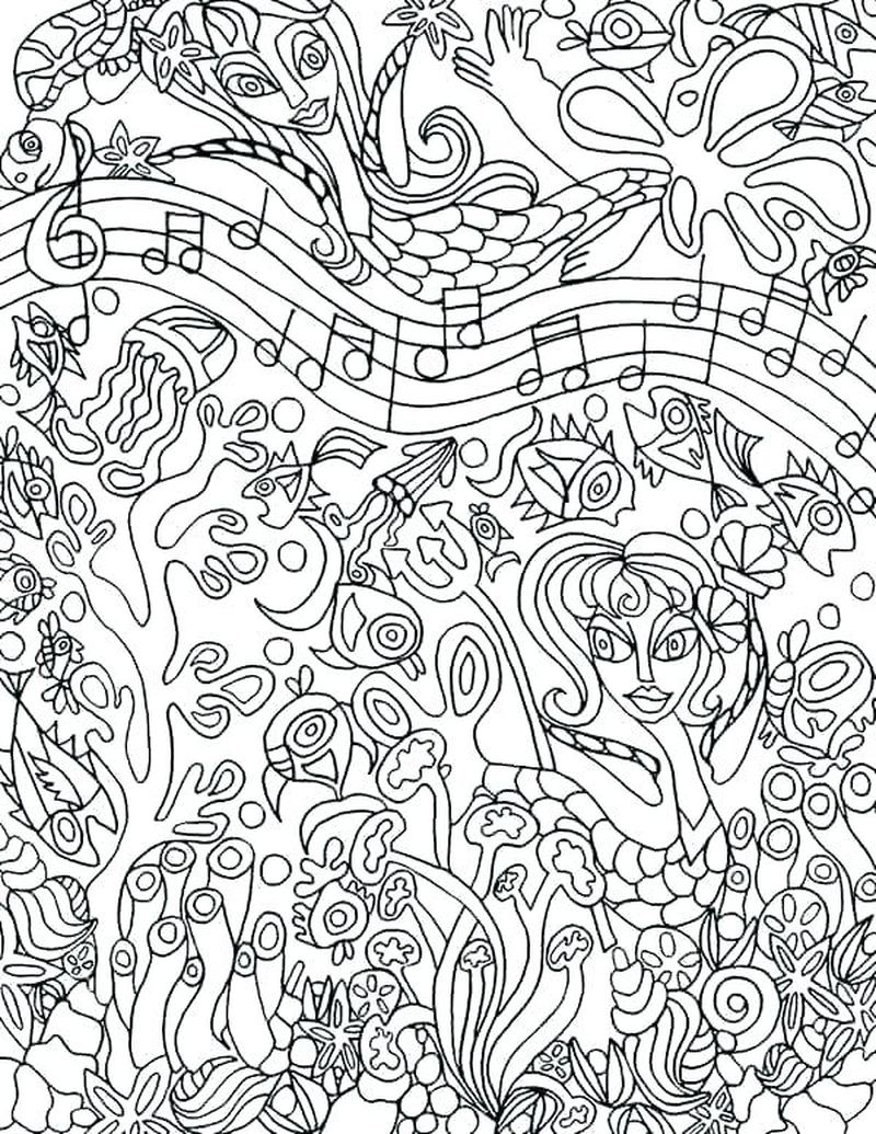 music dot to dot coloring pages