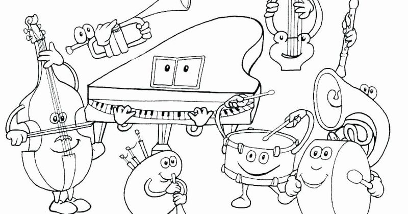 music group coloring pages