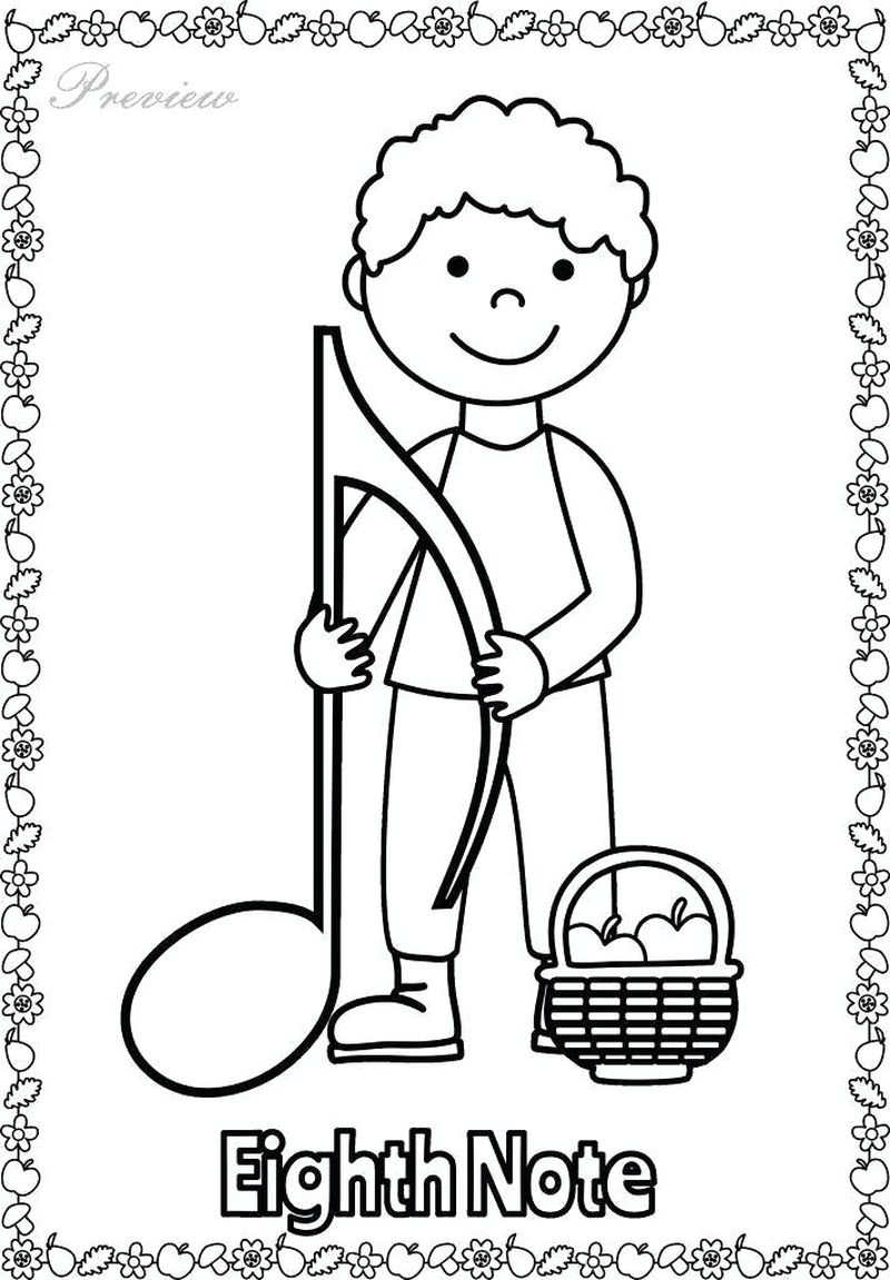 music is my life coloring pages