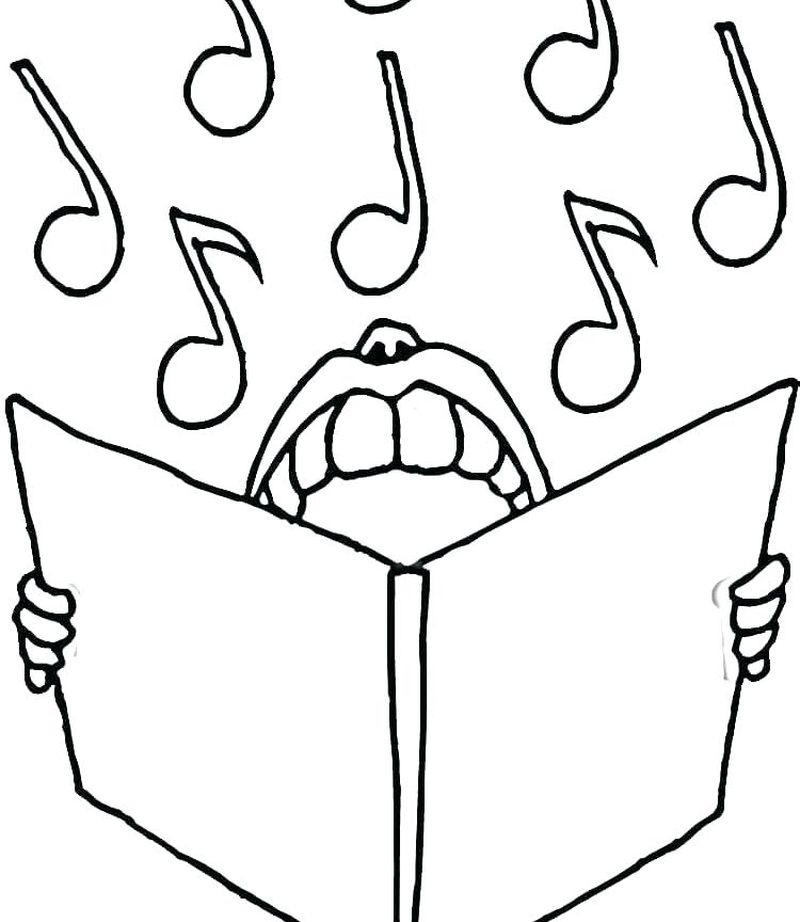 music lyric coloring pages