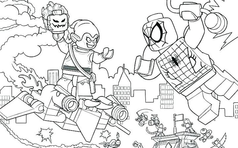 mysterio marvel coloring page