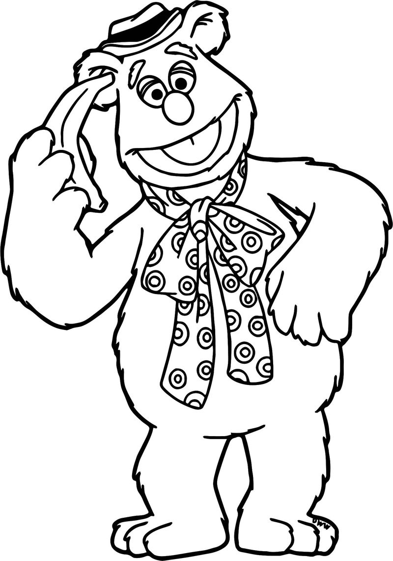 new muppet babies coloring pages