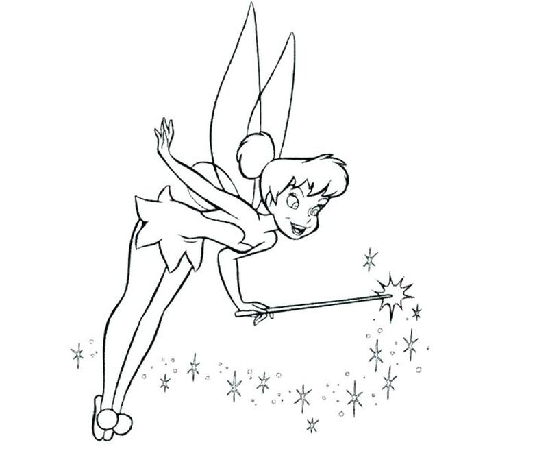 peter pan and wendy coloring page
