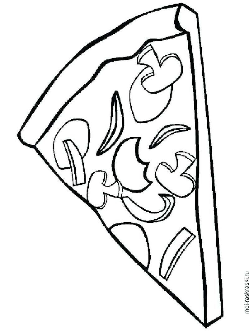 pizza coloring pages colouring