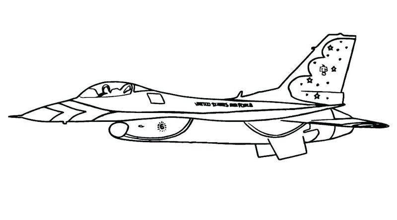 planes coloring pages free