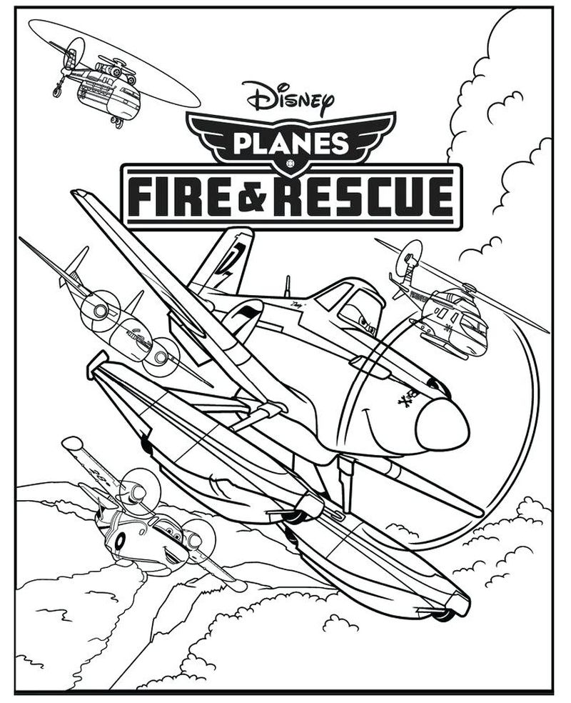 planes coloring pages printable