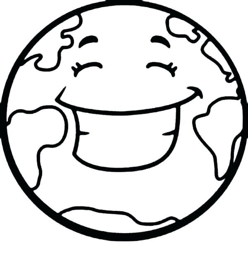 planet earth PRINTABLE coloring pages