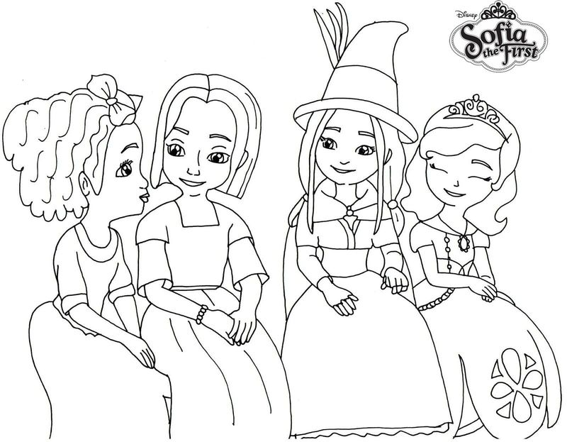 princess sofia PRINTABLE coloring pages Printable