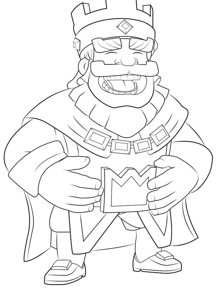 printable clash royale coloring pages legendary