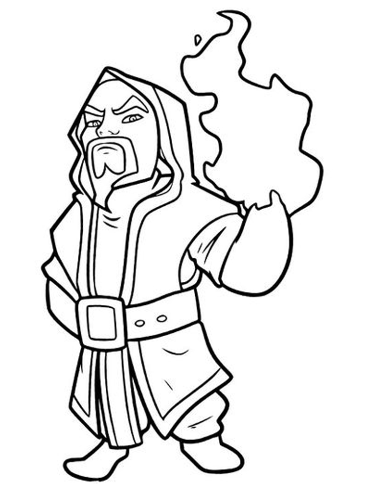 printable clash royale coloring pages pdf free