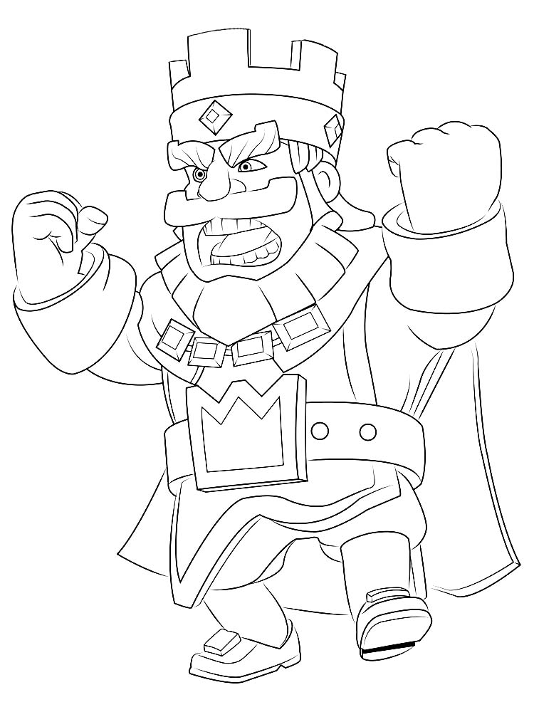 printable clash royale coloring pages printable