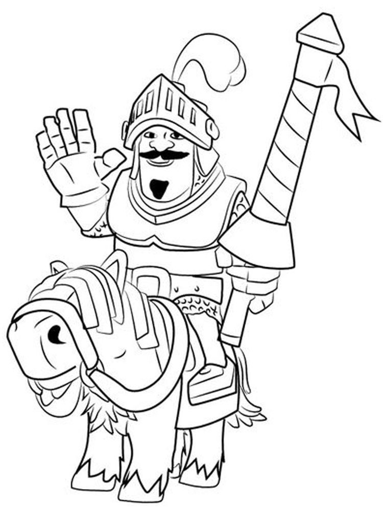 printable clash royale inferno dragon coloring pages