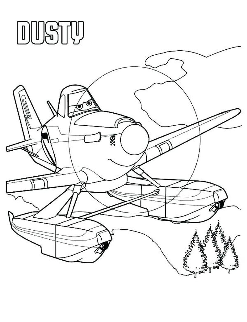 printable coloring pages of planes