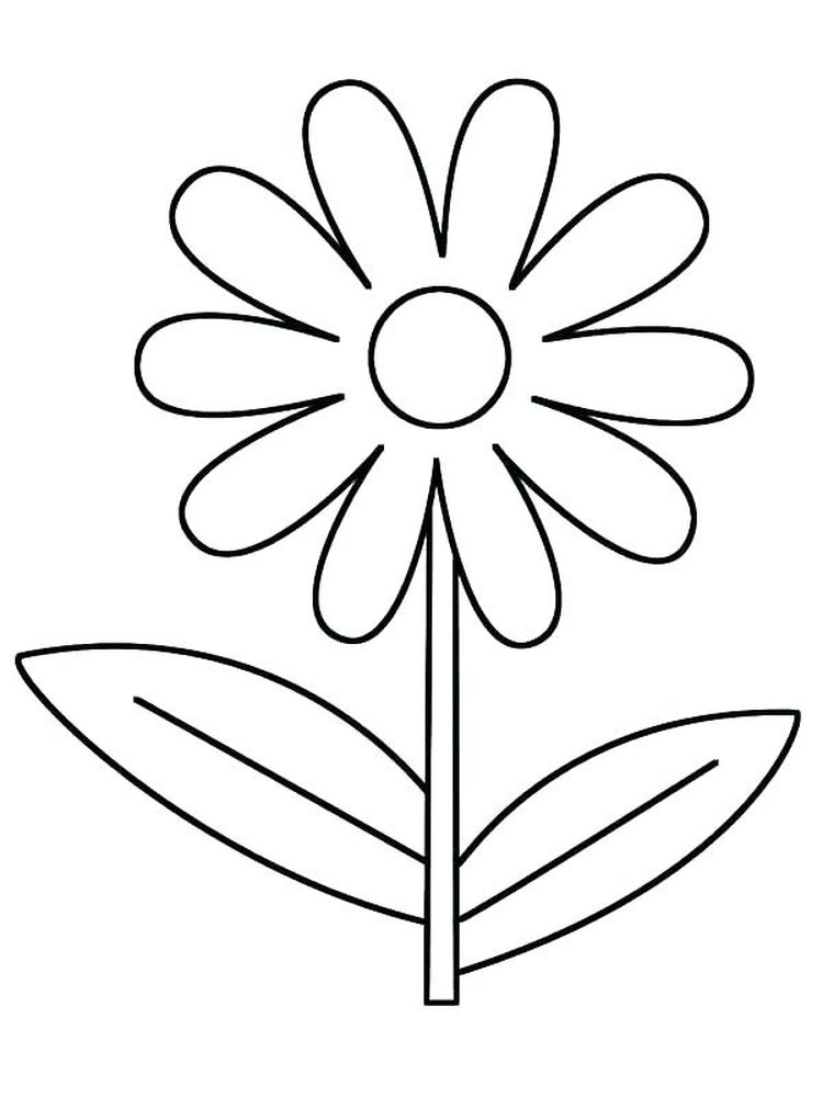 printable daisy flower friends coloring pages