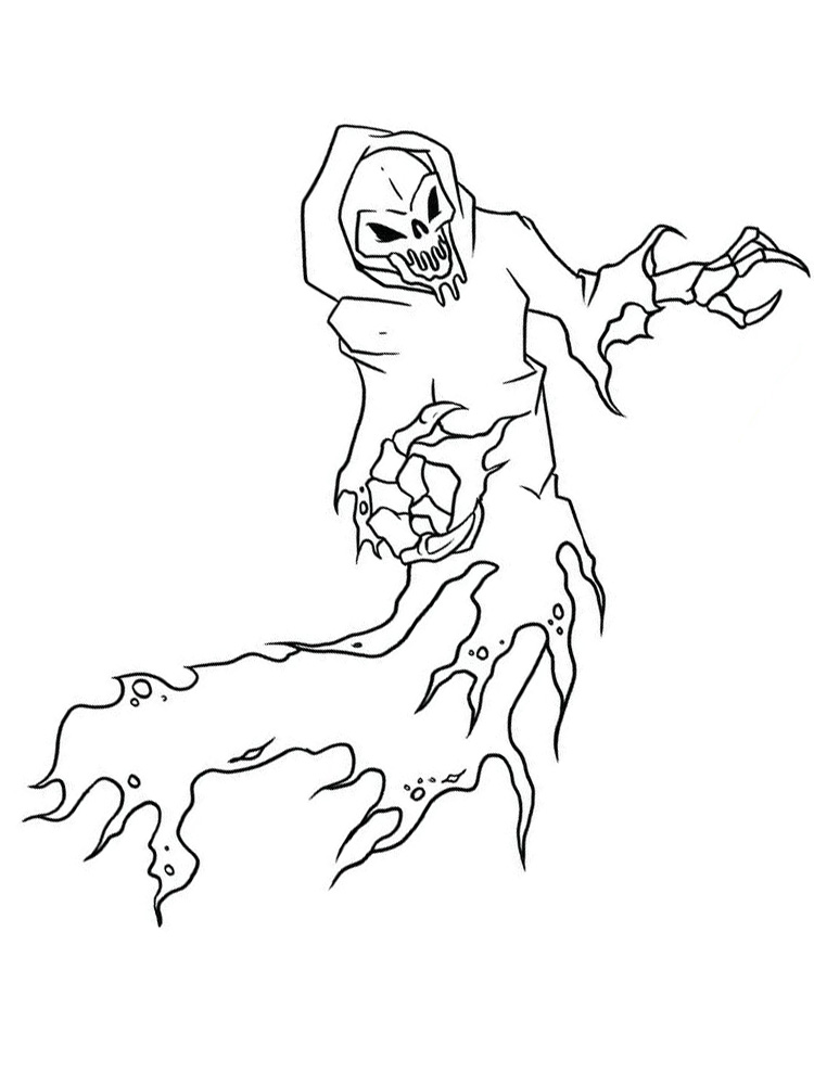 printable goosebumps coloring pages image