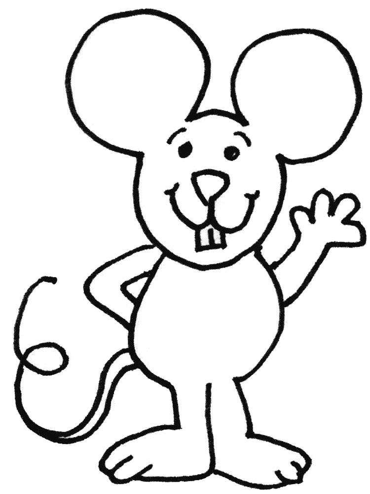 printable mouse coloring pages free