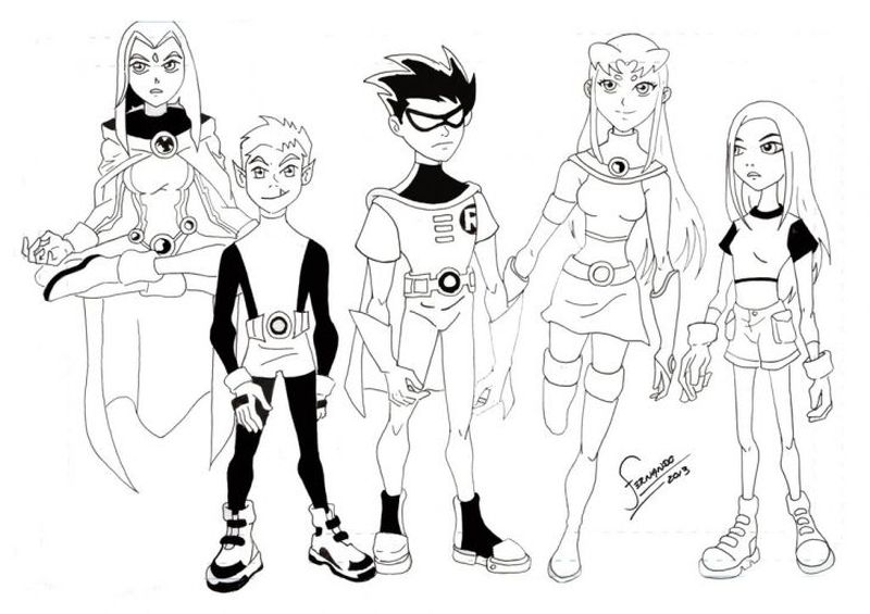 raven teen titans coloring pages Printable