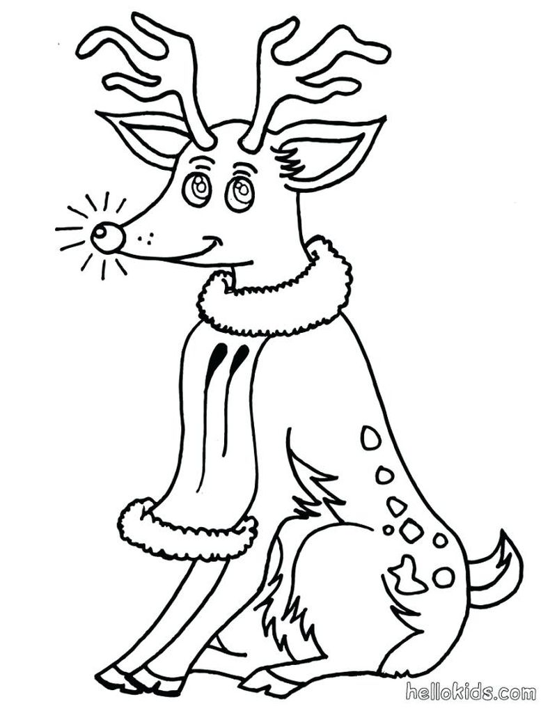 rudolph movie coloring pages
