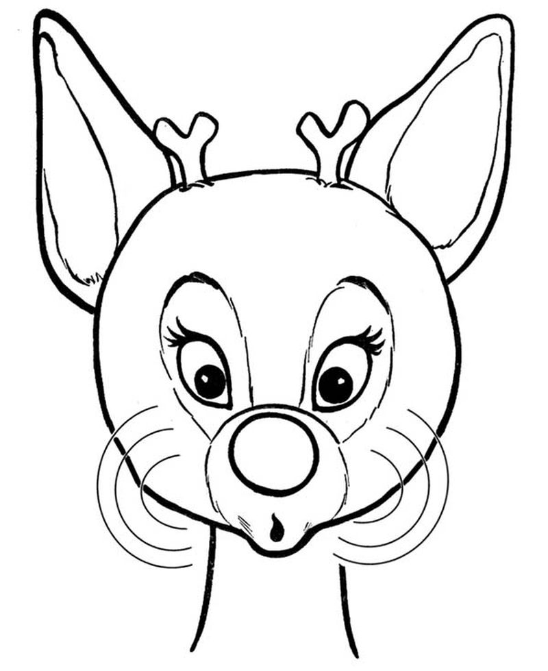 rudolph the red nosed reindeer 1998 coloring pages