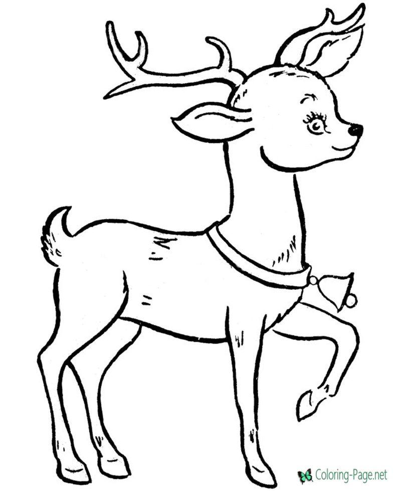 rudolph the red nosed reindeer coloring pages of clarice