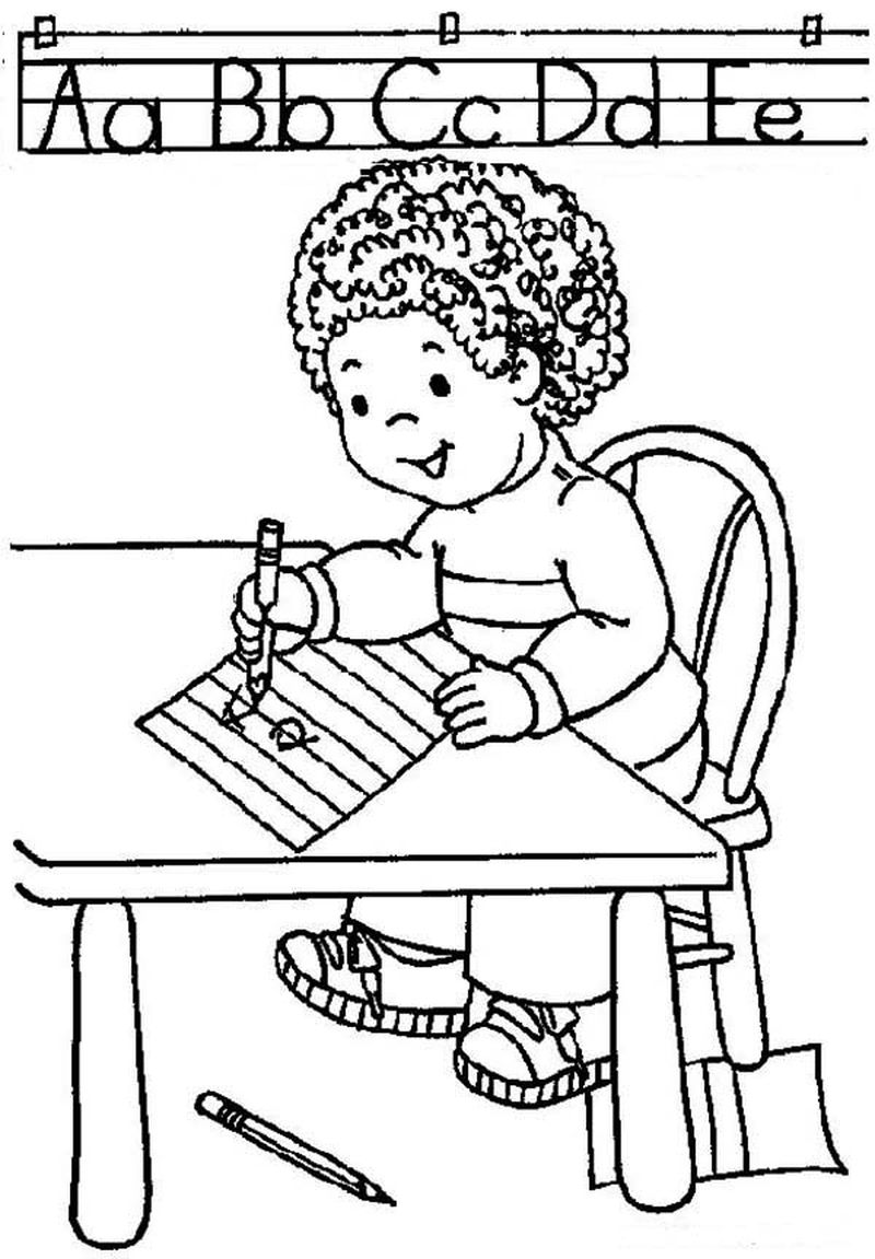 school bus PRINTABLE coloring pages Print