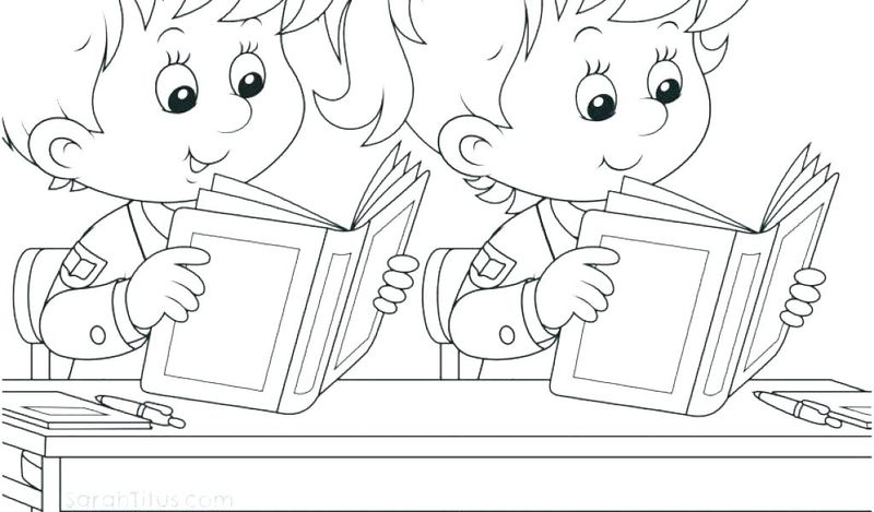 school buses coloring pages