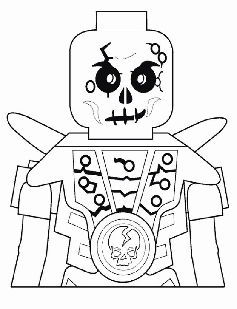 skeleton christmas coloring pages