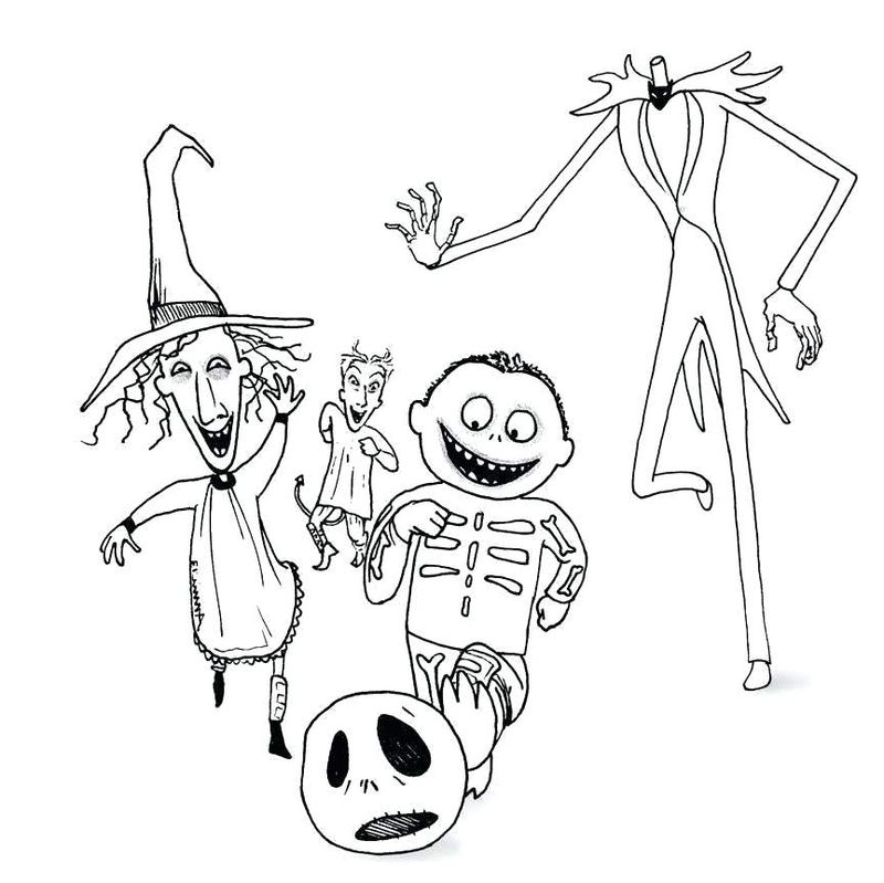 skeleton coloring pages thumbs up Printable