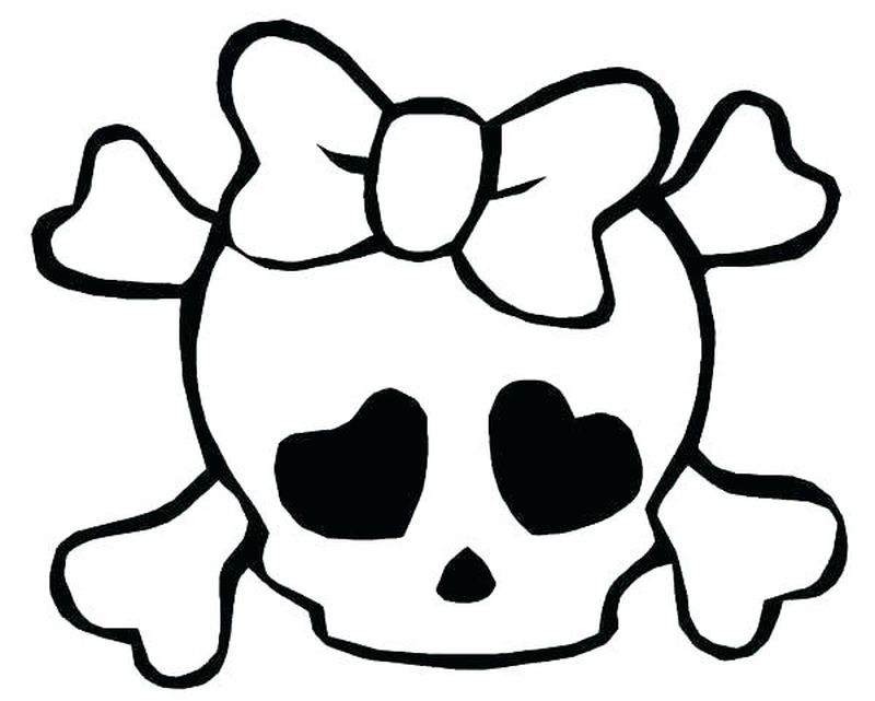 skeleton on fire coloring pages