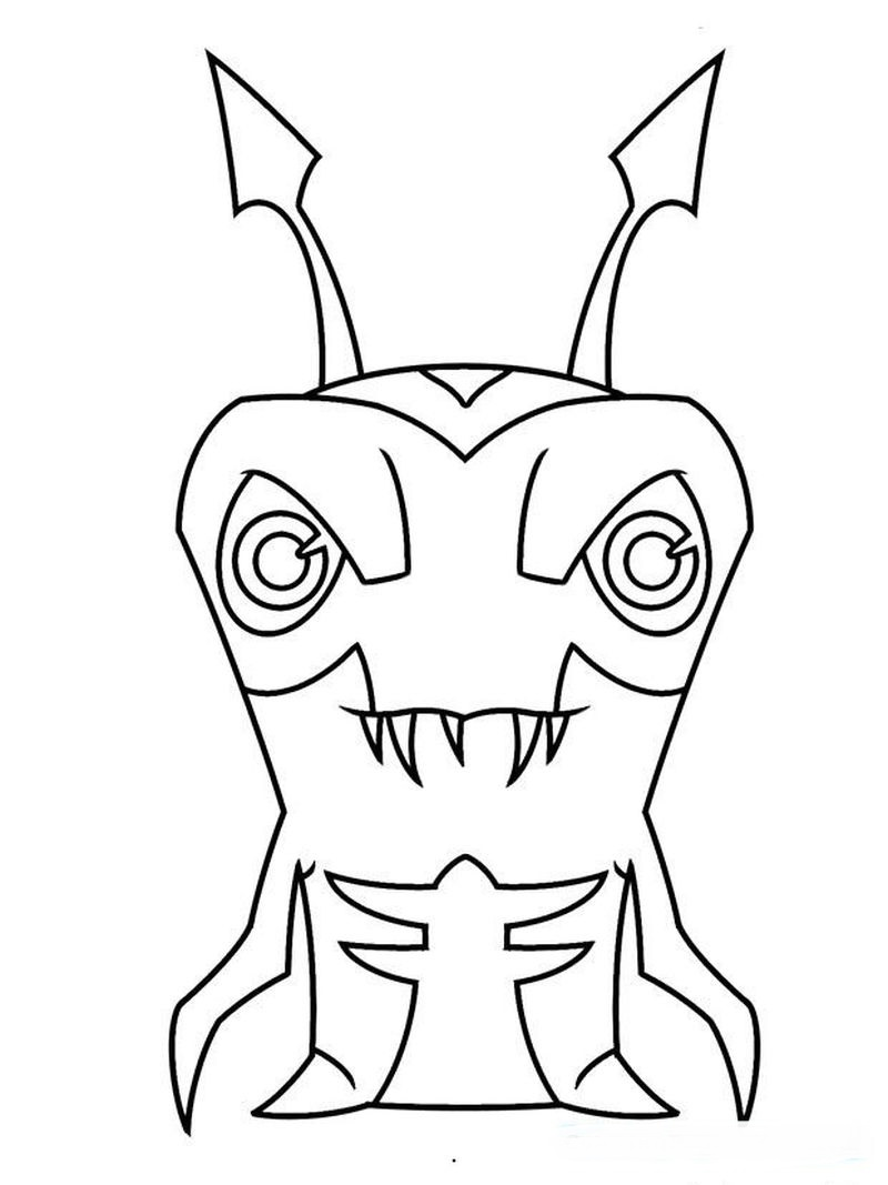 slugterra blaster coloring pages Printable