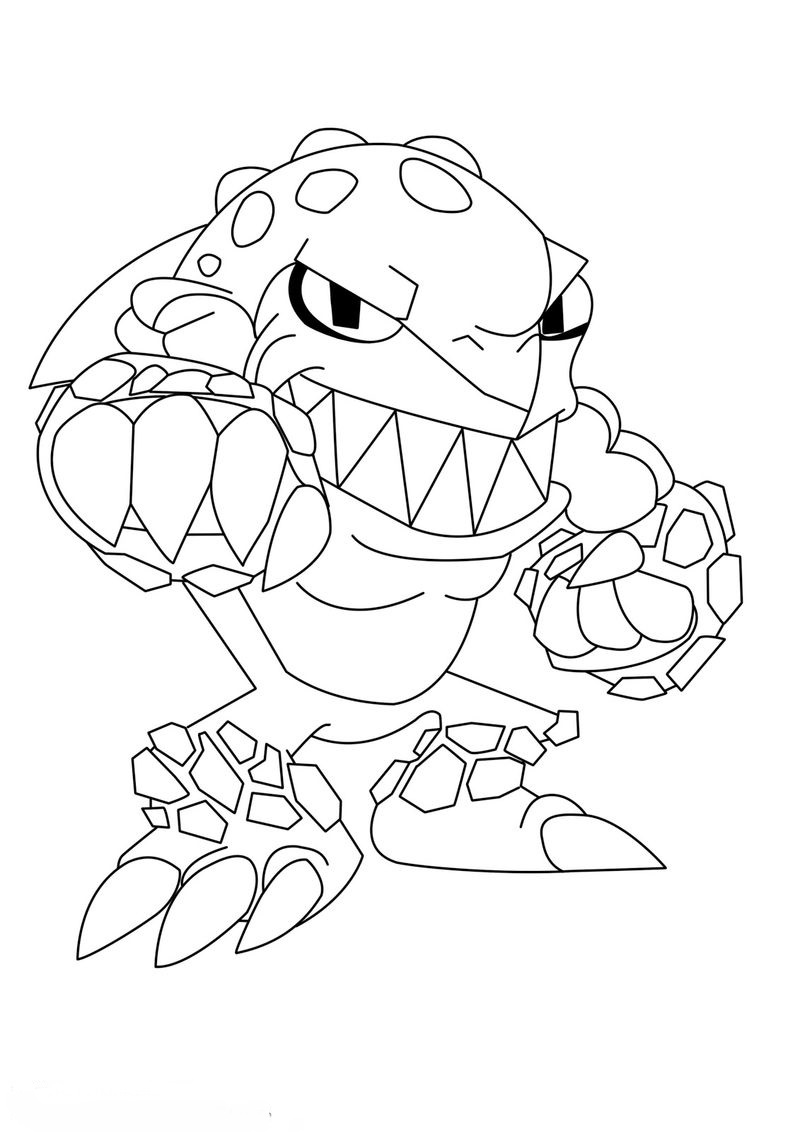 slugterra slugs coloring pages