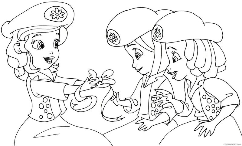 sofia the first PRINTABLE coloring pages Printable