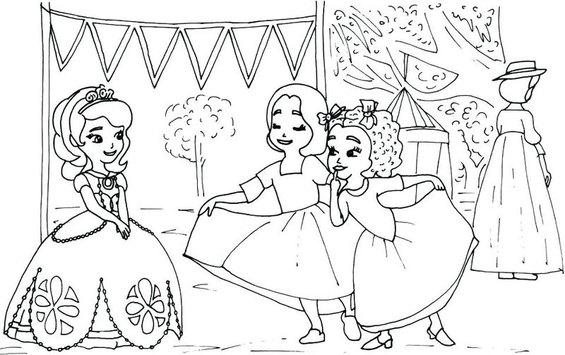 sofia the first color