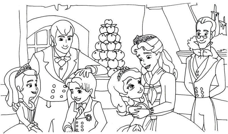 sofia the first pictures Printable