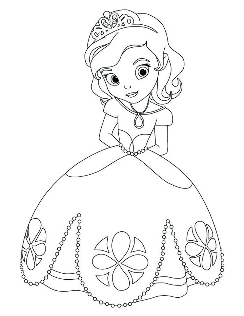 sophia coloring pages Printable