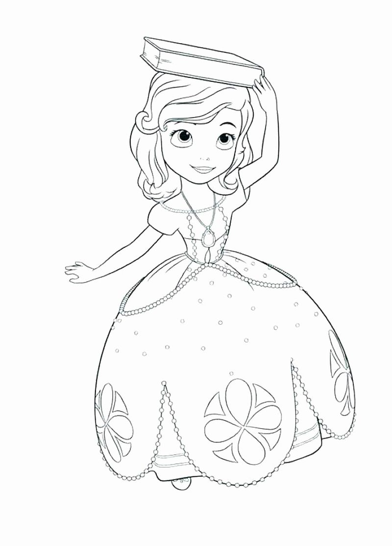 sophia the 1st coloring pages Printable