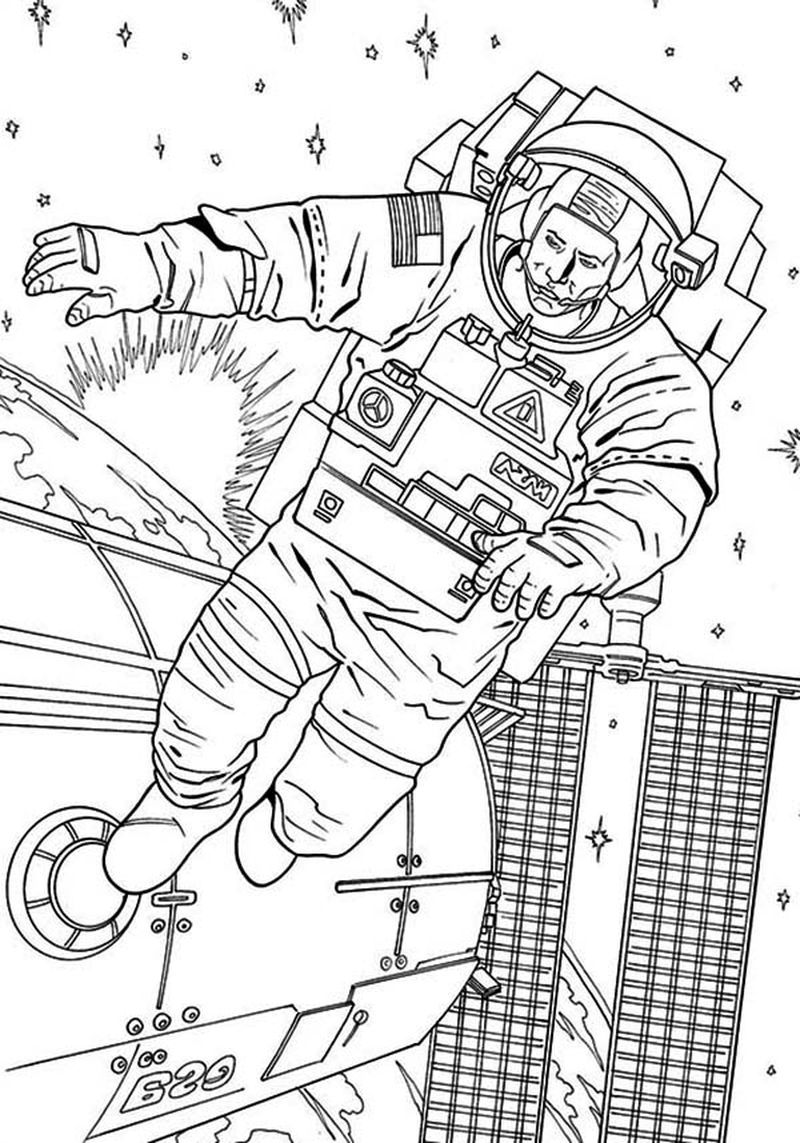space pirate card coloring pages