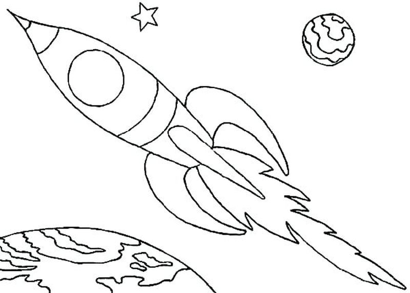 space pop coloring pages